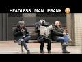 Headless Man Prank Julien Magic