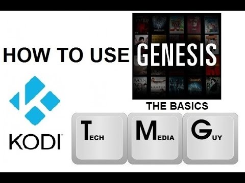 How to use Genesis in Kodi (XBMC) for FREE Movies and TV Shows (The Basics) (2016)