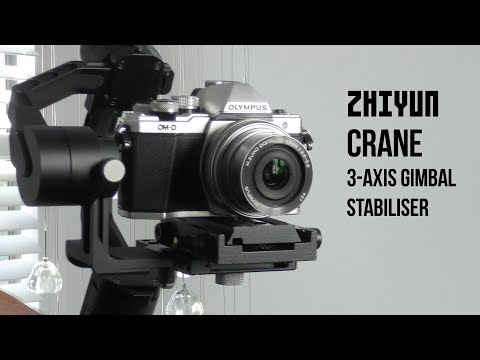 Unboxing and Review of the Zhiyun Crane 3 Axis - Gimbal Stabiliser