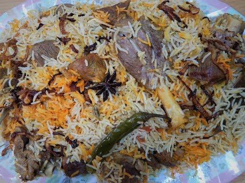 Mutton Yakhni Biryani