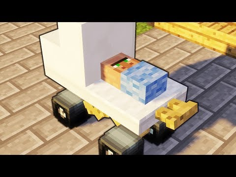 Minecraft - How To Make A Baby Stroller