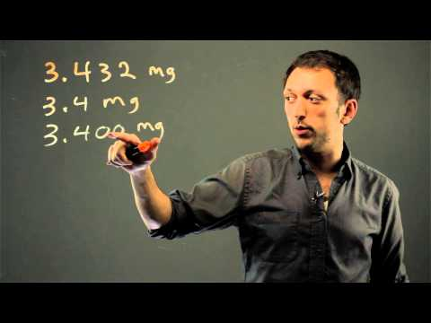 Difference Between Trailing Zeros in Significant Digits : Math Solutions
