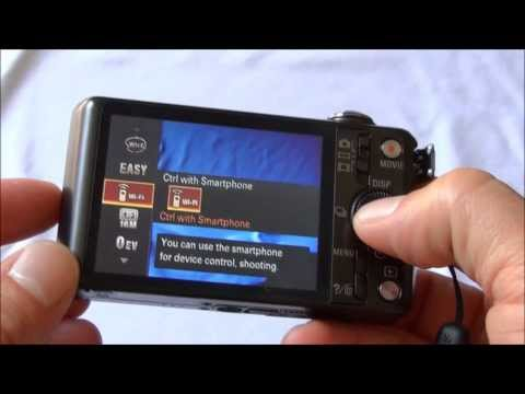 How to use Wi-Fi on Sony Cybershot via PlayMemories Mobile on an iOS Device