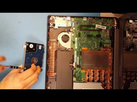 [How to] Open Asus X553m K553m & Replace Hard Drive / Upgrade