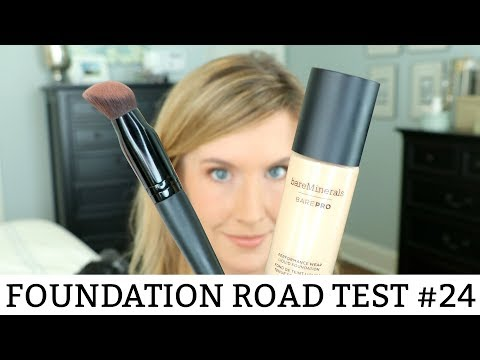 NEW! Bare Minerals BarePro Liquid Foundation Review | Is the Luxe Performance Brush a MUST?