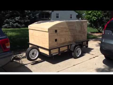 Camping explorer trailer build
