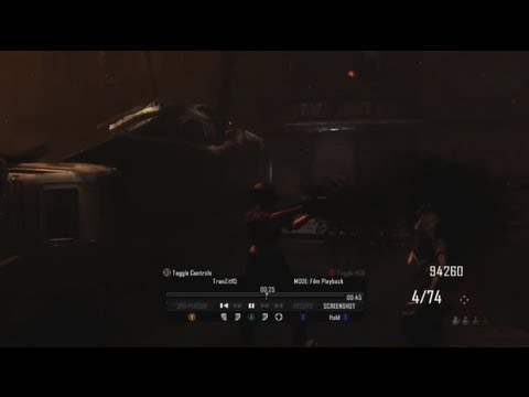 Black Ops 2 Zombies | UFO MODE / Theater Mode Gameplay Images