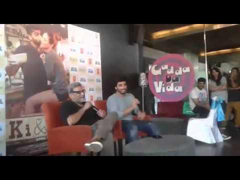 ki and ka film - R.Balki and Arjun kapoor with newsonline