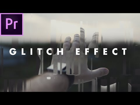 How To INSTANTLY Glitch Footage in Premiere Pro CC 2017 (no plugins) | Easy Tutorial