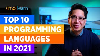 Top 10 Programming Languages In 2021  Best Programming Languages To Learn In 2021   Simplilearn