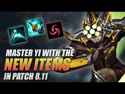 NEW ITEMS ON MASTER YI - THIS 100% NEEDS TO BE NERFED