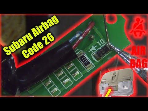 Subaru Airbag Code 26