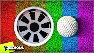 PLAYING ALL OF THE MAPS - GOLF WITH FRIENDS MARATHON (Golf with Your Friends)