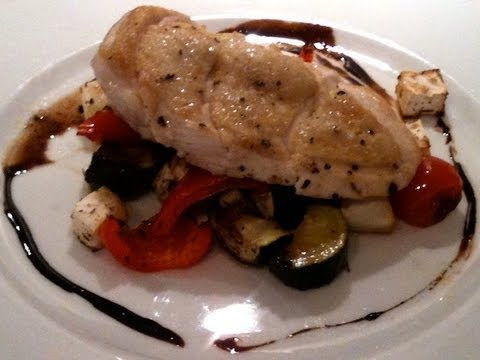 Chicken with Mediterranean Veg & a Balsamic Reduction Cook-Along Video Part 1