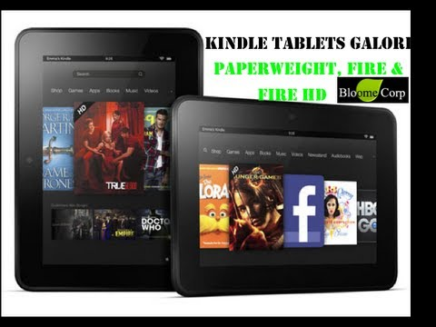 Amazon Kindle Fire, Fire HD and Paperweight