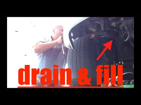 SIMPLE Coolant Drain Fill Radiator Engine Block Toyota 4Runner √ Fix it Angel