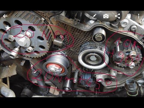 Wymiana rozrządu VW 1.6 Tdi   Volkswagen, audi, skoda, seat TIMING BELT REPLACEMENT