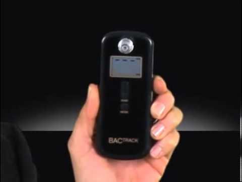 BACtrack S75 Pro Breathalyzer Demonstration