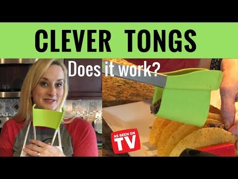 Clever Tongs Review - As Seen On TV