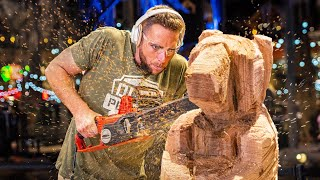Chainsaw Carving Competition | OT 29