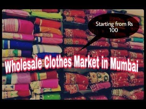 Biggest Wholesale Clothes Market in Mumbai : Mangaldas Market in South Mumbai