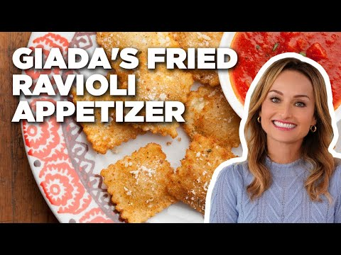 Giada's Fried Ravioli Appetizer | Food Network