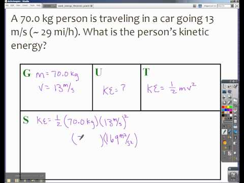 Finding Force When Given Mass and Velocity