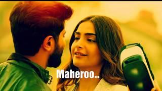 Maheroo - The Zoya Factor | Full Lyrics Video | Sonam K Ahuja & Dulquer Salmaan | Yaseer Desai 2019