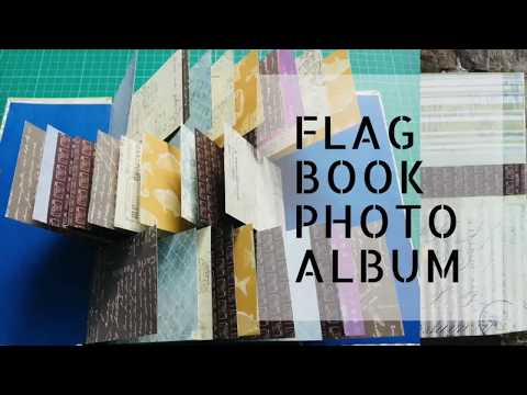 FLAG BOOK PHOTO ALBUM | DIY GIFTS | PAPER CRAFTS