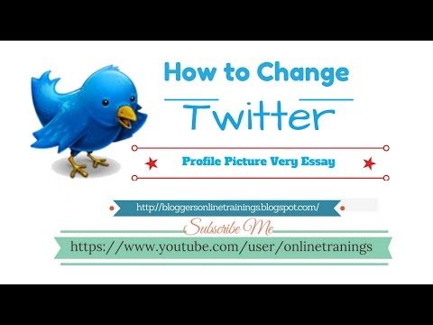 How to change profile picture on Twitter in Urdu and Hindi