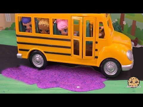 Xxx Mp4 Slime School Bus LOL Surprise Doll Play Video Cookie Swirl C Part 1 3gp Sex