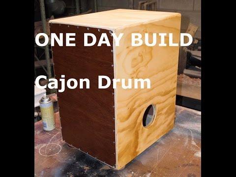 One Day Build: Cajon Drum