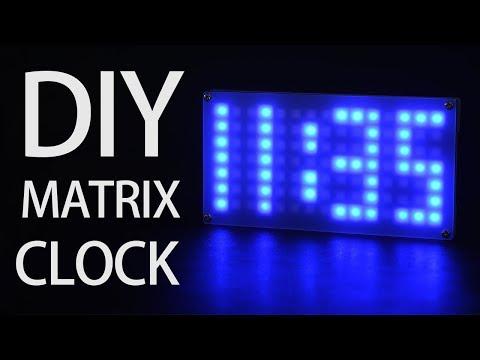GEEKCREIT DIY DS3231 DOT MATRIX CLOCK KIT