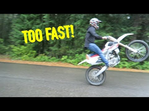 MY FIRST DIRTBIKE + First Ride