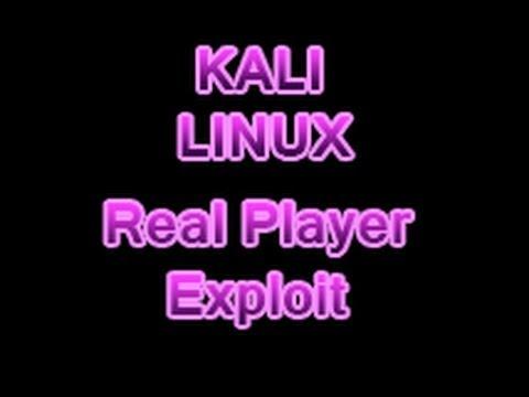 Kali Linux - Hacking XP SP3 RealPlayer RealMedia File Handling