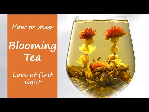 'Love At First Sight' Blooming Tea - Flowering Tea