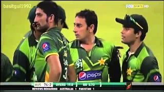 Saeed Ajmal 10 wickets vs Australia Odi Series - 2012