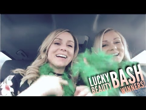 """$12K IN 2 HOURS!! Maskcara Twins, Mindy and Mandy """"Lucky"""" Beauty Bash WINNERS!"""
