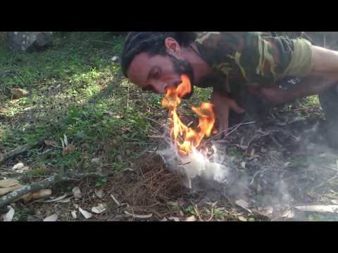 Primitive Technology: Bow Drill Fire making