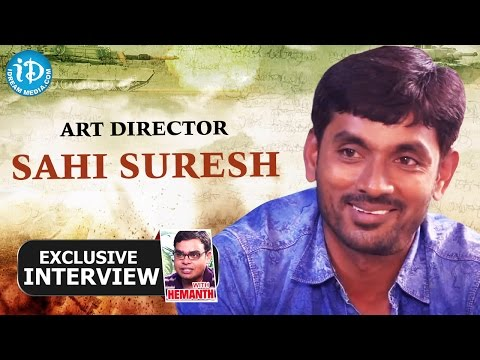 Art Director Sahi Suresh Exclusive Interview || Talking Movies with iDream # 31