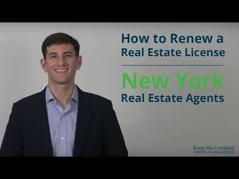 How to Renew a New York Real Estate License Online