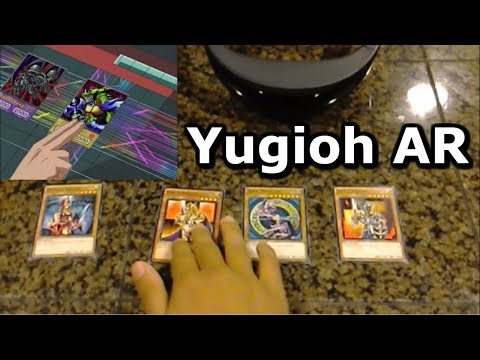 Yugioh in Real Life AR Alpha for HoloLens - Card Scanning for Duel Arenas