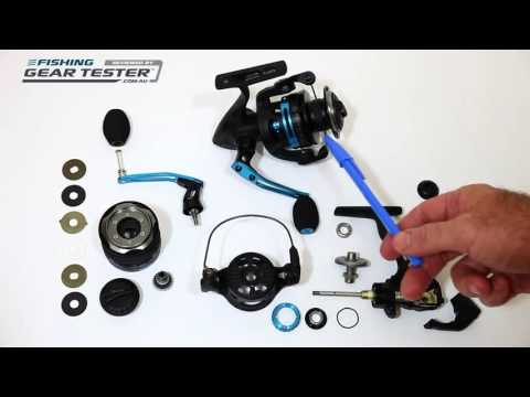 REVIEW  Quantum Smoke Inshore Spin Reel reviewed by FishingGearTester com au