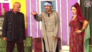 Babu Baral and Sajan Abbas with Abida Baig - Comedy Stage Drama Clip - पंजाबी कॉमेडी