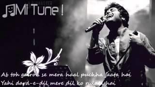 Wafa Ne Bewafai Tera Suroor   Arijit Singh Lyrical Full Video Song   T Series