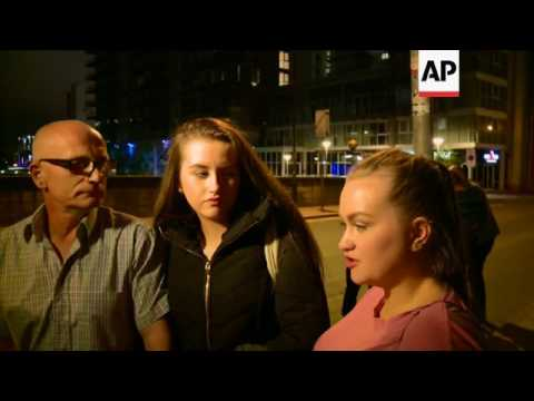 Ariana Grande concertgoers describe scene after blast: 'I just ran for my life'