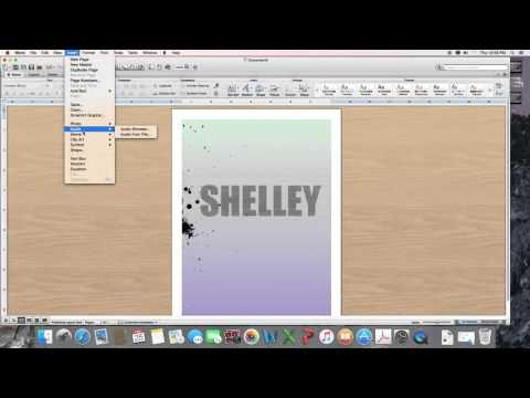 How to Make a Cover Page using Microsoft Word