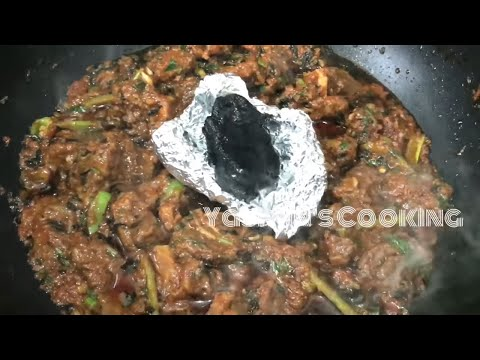 Mutton Kyola Karahi in hindi/urdu (how to make kyola karahi)
