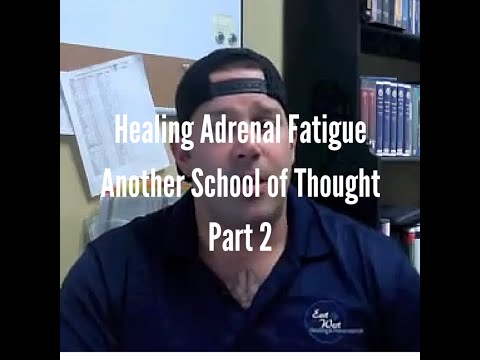 Healing Adrenal Fatigue - Another School of Thought: Part 2