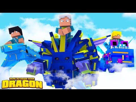 ROYAL SKY DRAGONS ARRIVE! - How To Train Your Dragon w/TinyTurtle